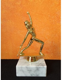Twirling Trophy with marble base