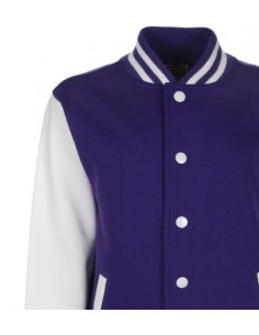 Varsity Jacket, Purple
