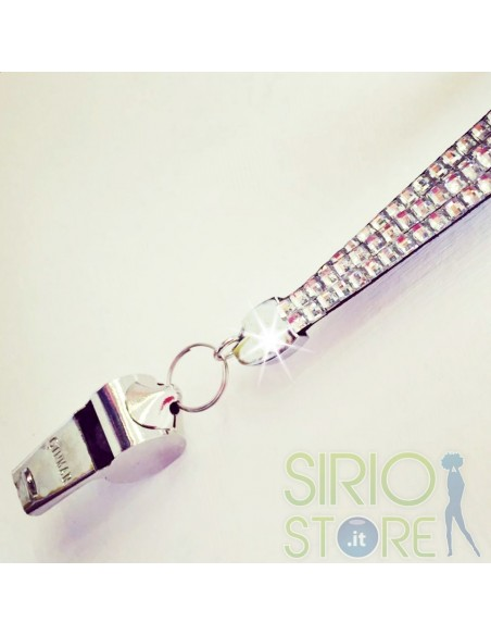 Porta badge in Strass