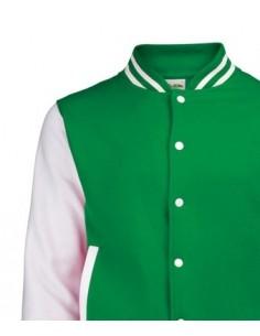 Giacca Varsity, Verde