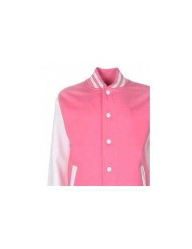 Varsity Jacket, Pink
