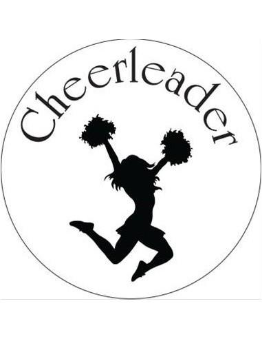 Adesivo Cheerleader