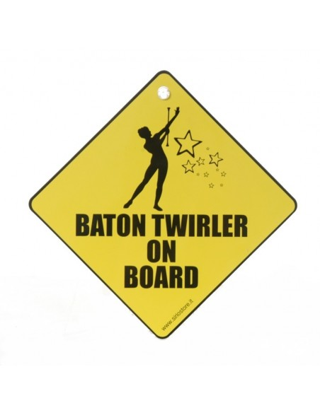 Baton Twirler on Board