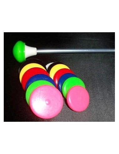 Practice caps for Twirling Batons - pair