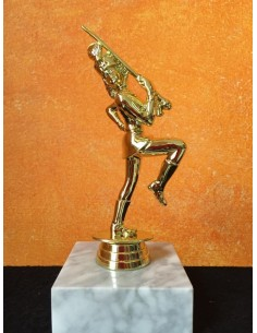 Majorette Trophy with marble base