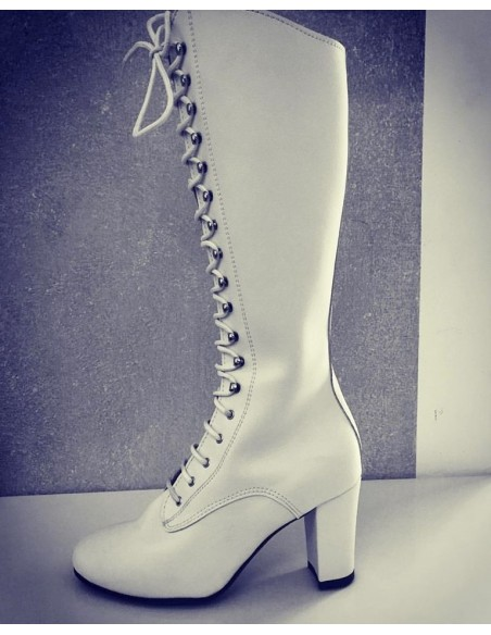 Majorettes Boots, leather, heel 70mm