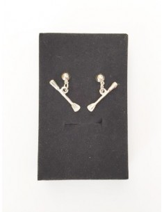 Twirling Baton Earrings
