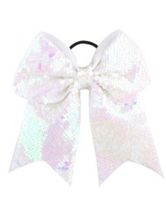 Cheer Bow with sequins, crystal