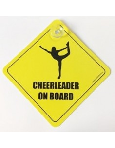 Cheerleader on Board