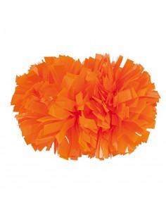 "Pom pon 4"" neon Arancione"