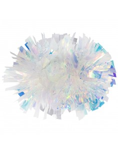"4"" Crystal Rainbow Poms"