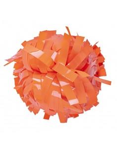 "Pom pon 6"" Neon arancione"