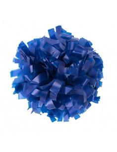 "Plastic poms 6"" royal blue"