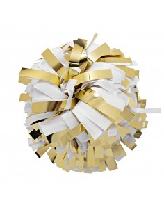 "Poms 6"", Metallic gold..."
