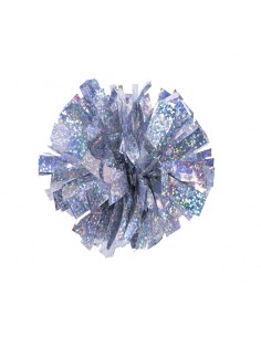 Mini poms - Argento
