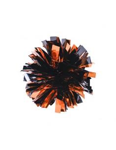 Mini poms - Arancione e Nero