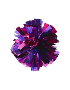 Mini poms - Fuschia and Purple