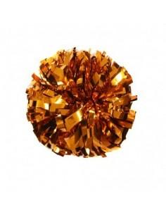 "Pom pon 6"" METALLIC arancione"