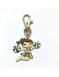Cheer Charm Keychain with...