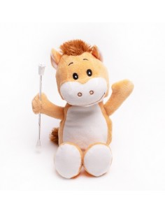 Soft Toy horse Twirling Baton