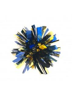 Mini poms - Blu e Oro