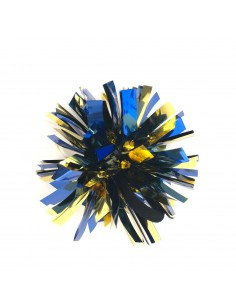 Mini poms - Blue and Gold